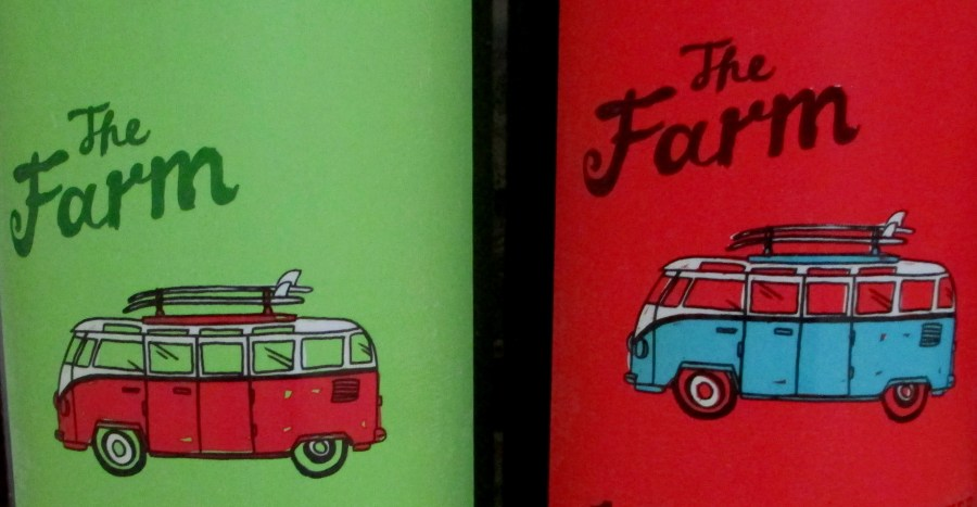 The Farm (red and white wine labels)