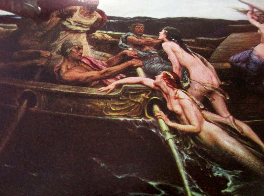 Herbert Draper | Ulysses and the Sirens (1909)