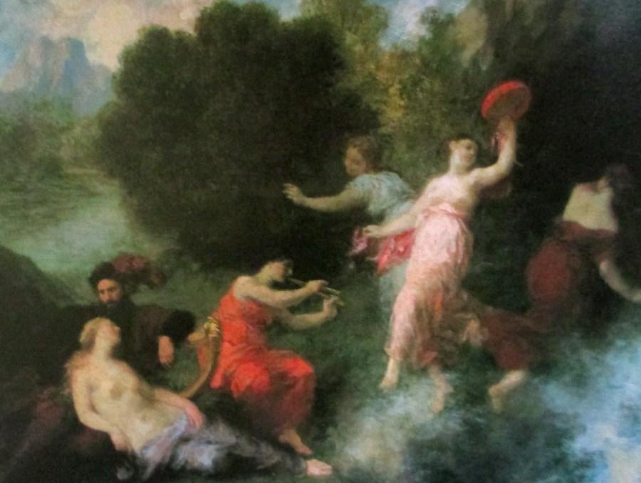 Henri Fantin-Latour | Tannhauser on the Venusberg (1864)