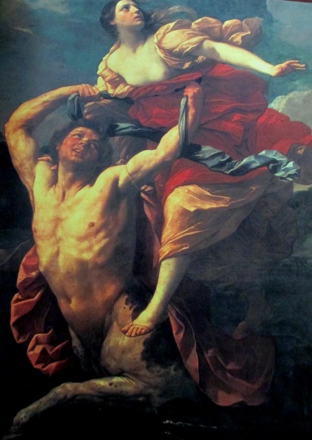 Guido Reni   Abduction of Dejanira By Centaur Nessus