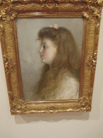 Tom Roberts | Portrait of a Young Girl