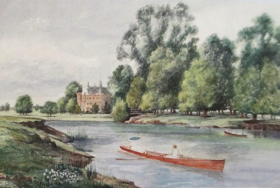 Percy Aldridge Grainger | Eton (1893) watercolor on paper granger museum uni melb