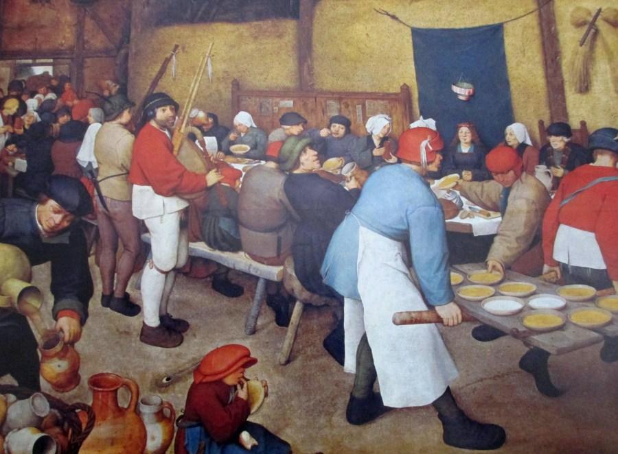 Pieter Brueghel the Elder | Country Wedding (1568 )