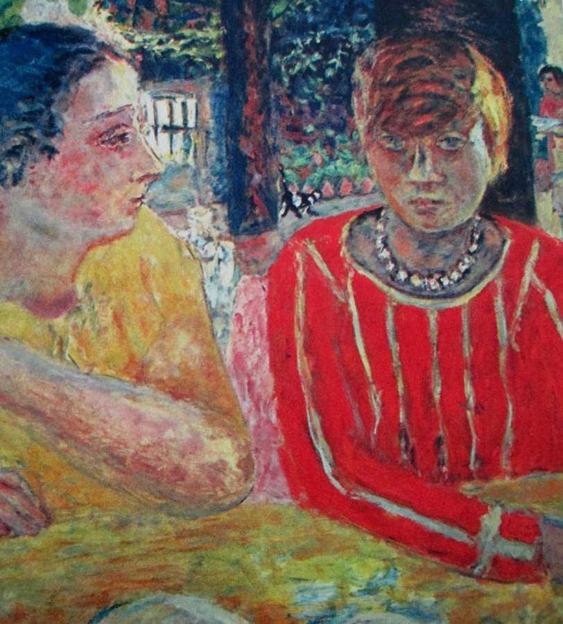 Pierre Bonnard   Portrait of Reine Natanson and Marthe Bonnard (1928)
