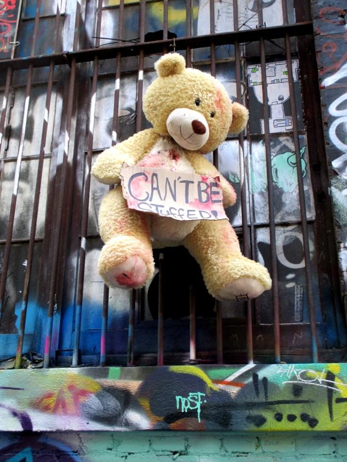 Can't Be Stuffed | Hosier Lane