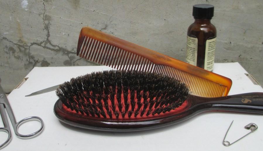 Maryann Adair 'After' John Brack - The Hairbrush