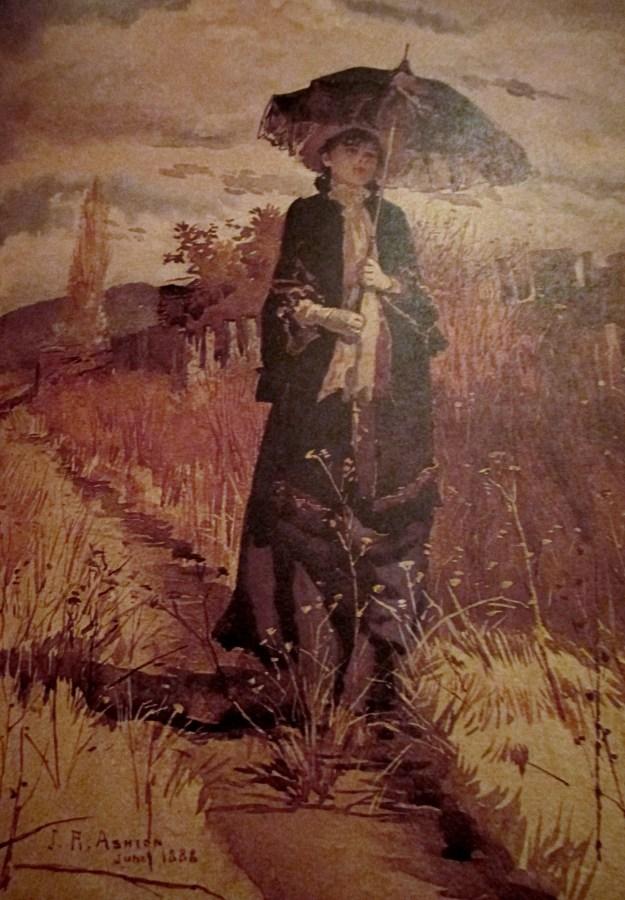 Julian Ashton | A Solitary Amble (1888)