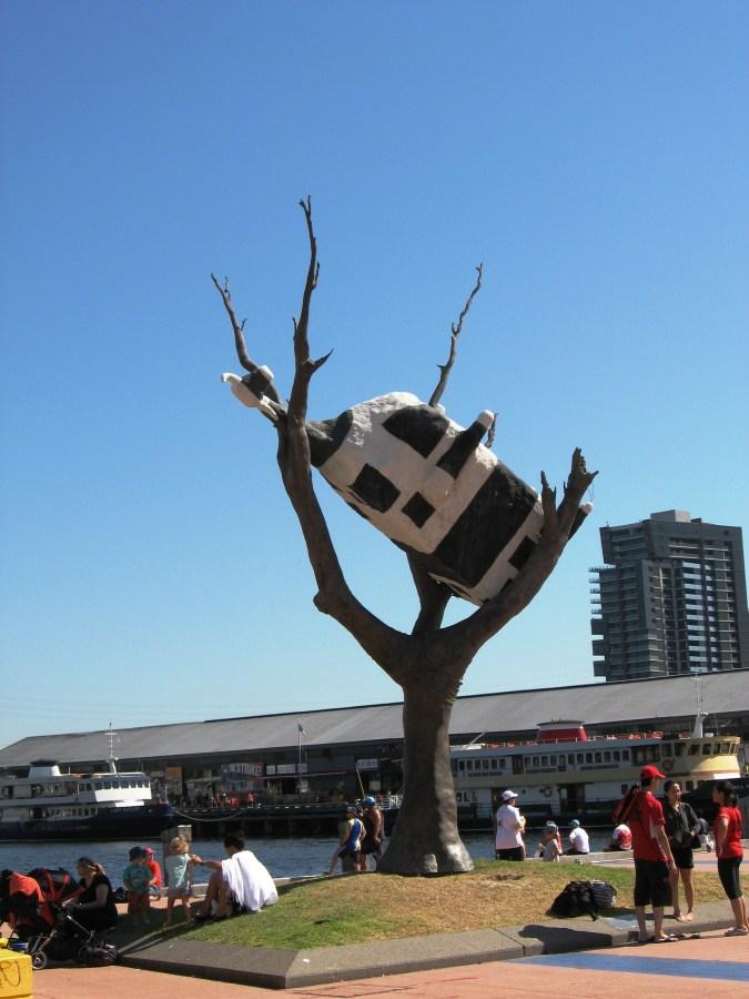 John Kelly | Cow Up a Tree