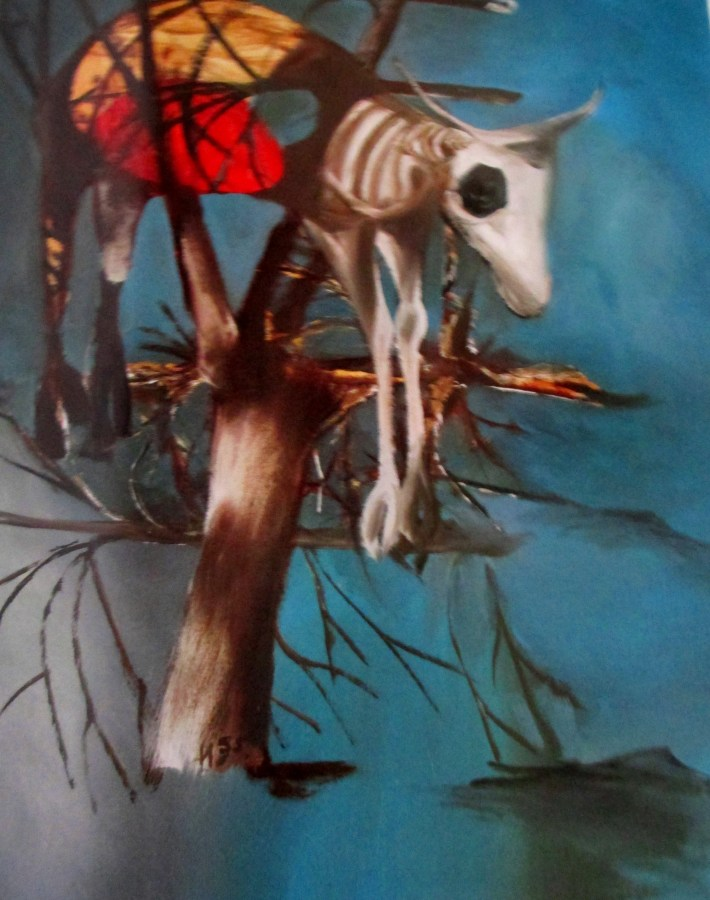 Sidney Nolan | Ram Caught in Flood {1955)