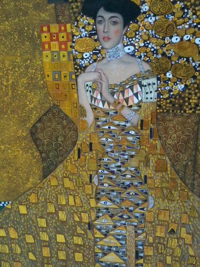 Gustav Klimt   Portrait of Adele Bloch-Bauer I forgery