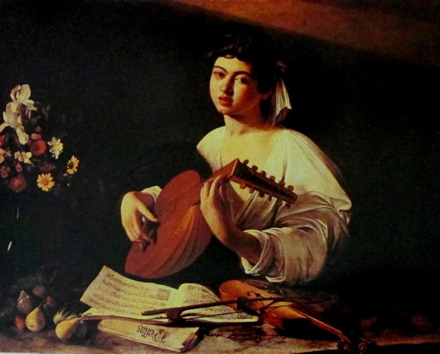 Michelangelo Merisi da Caravaggio   The Lute Player (1604)