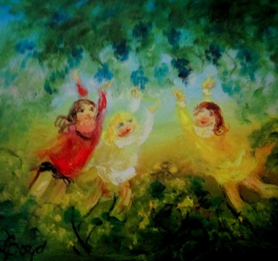 David Boyd | Reaching for the blossom