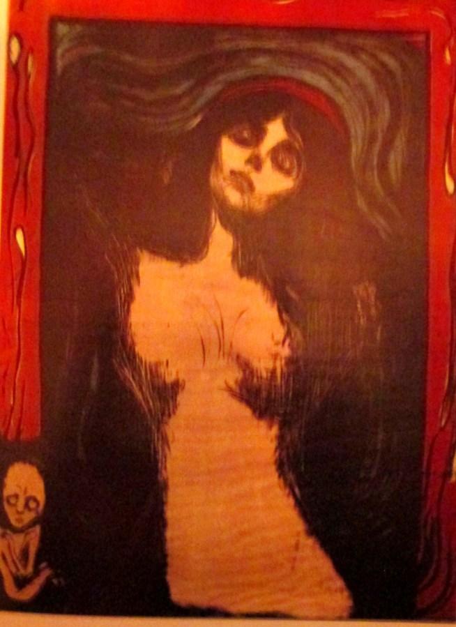 Edvard Munch   With border of floating spermatozoa