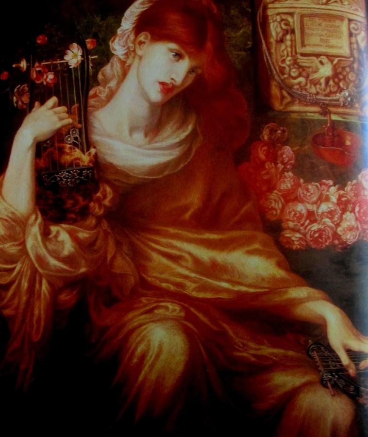Dante Gabriel Rossetti | The Roman Window (1874)