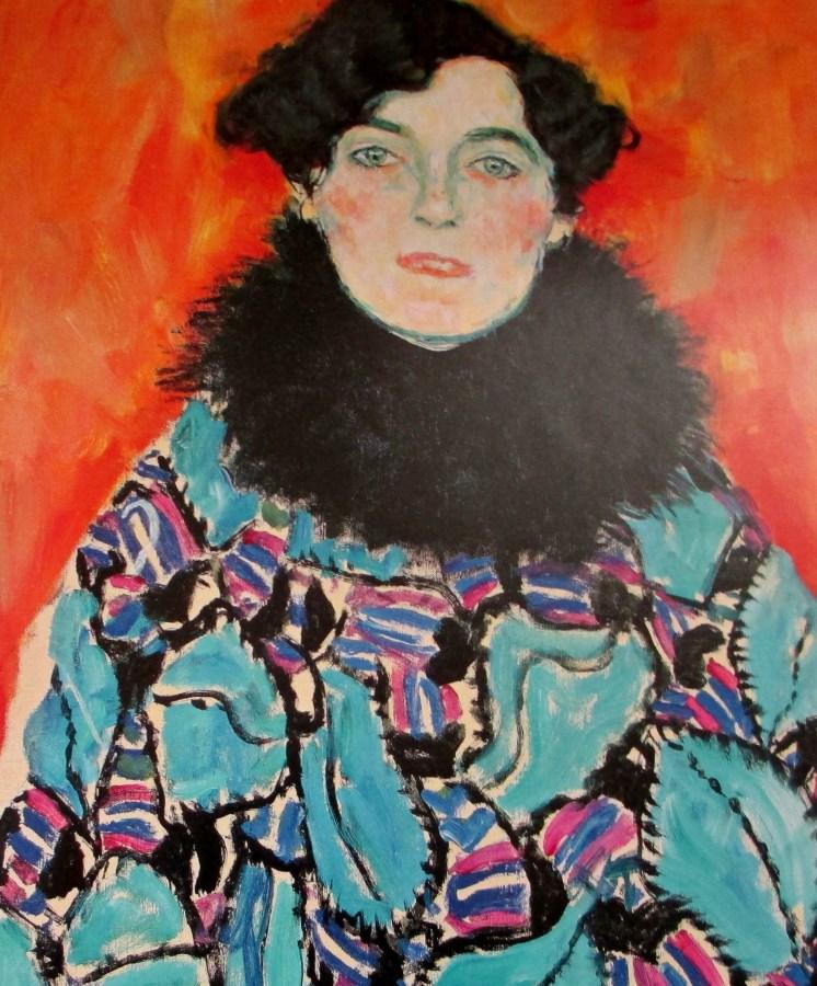 Gustav Klimt | Portrait of Johanna Staude (1917)