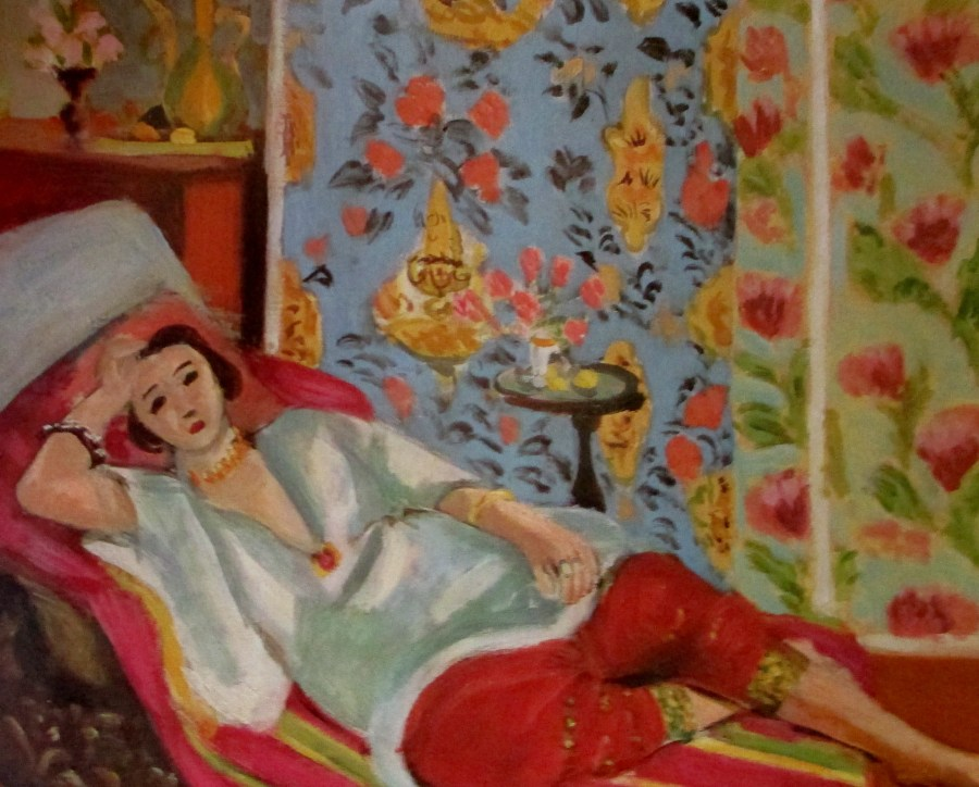 Henri Matisse | Odalisque in red trousers (1924)