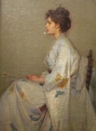 John Longstaff | Lady in Grey