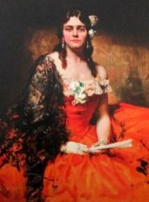 John Longstaff | Portrait of Edna Thomas