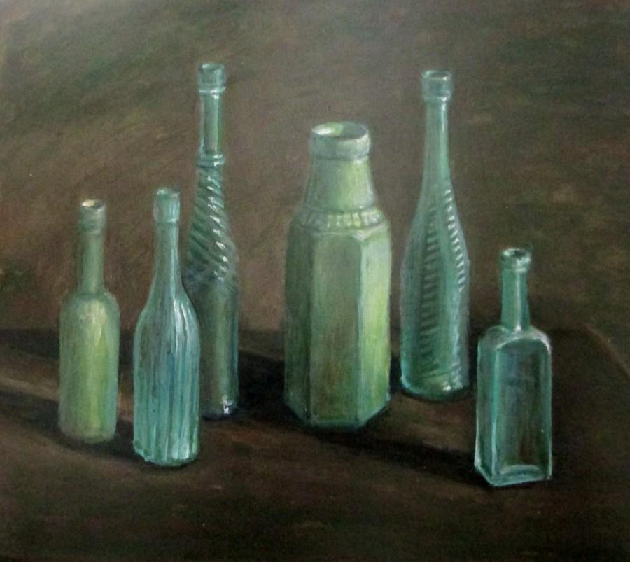 Margaret Olley | Bottles