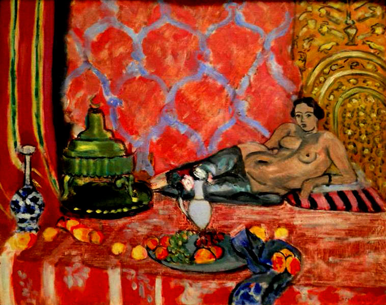 Henri Matisse | Odalisque with Gray Trousers