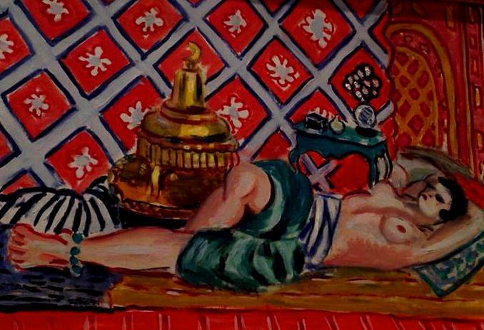 Henri Matisse   Reclining Odalisque