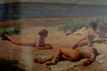 Paul Fischer | Nude Bathers on the Beach