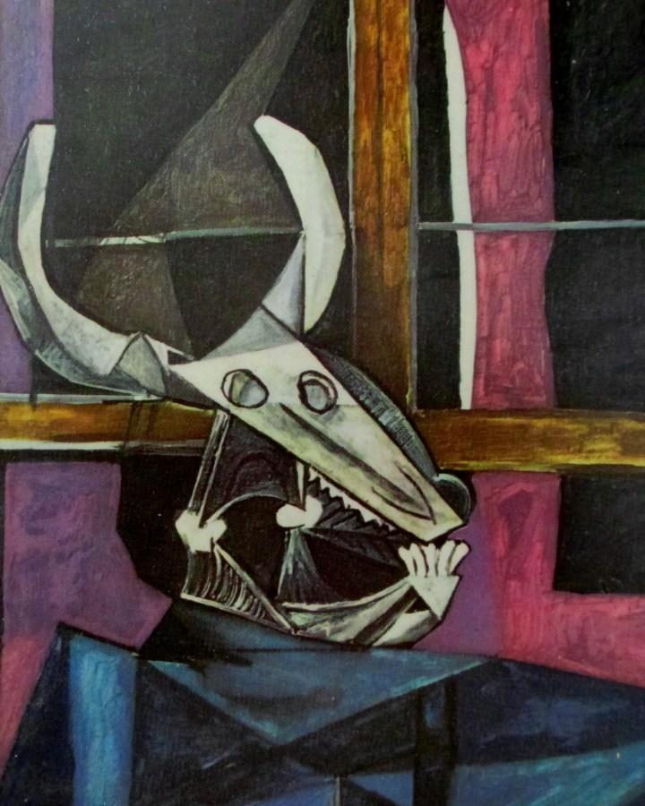 Pablo Picasso | Nature Morte au Crane de Boeuf | Still LIfe with Steer's Skull (1942)