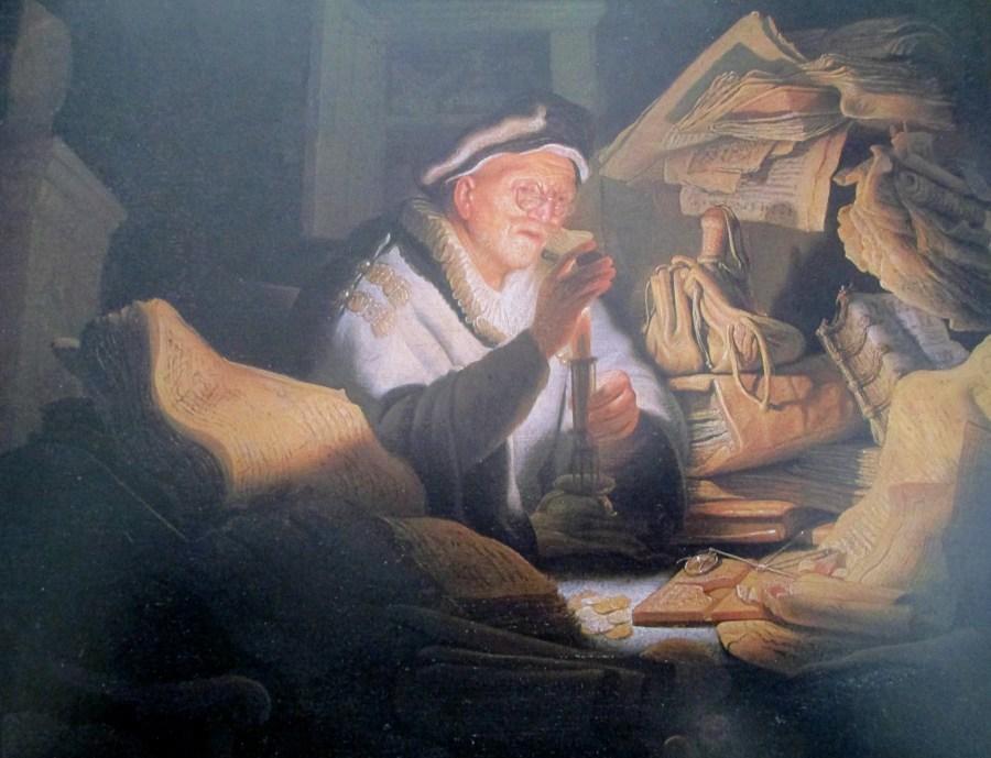 Rembrandt van Rijn | Parable of the Rich Man 1627)