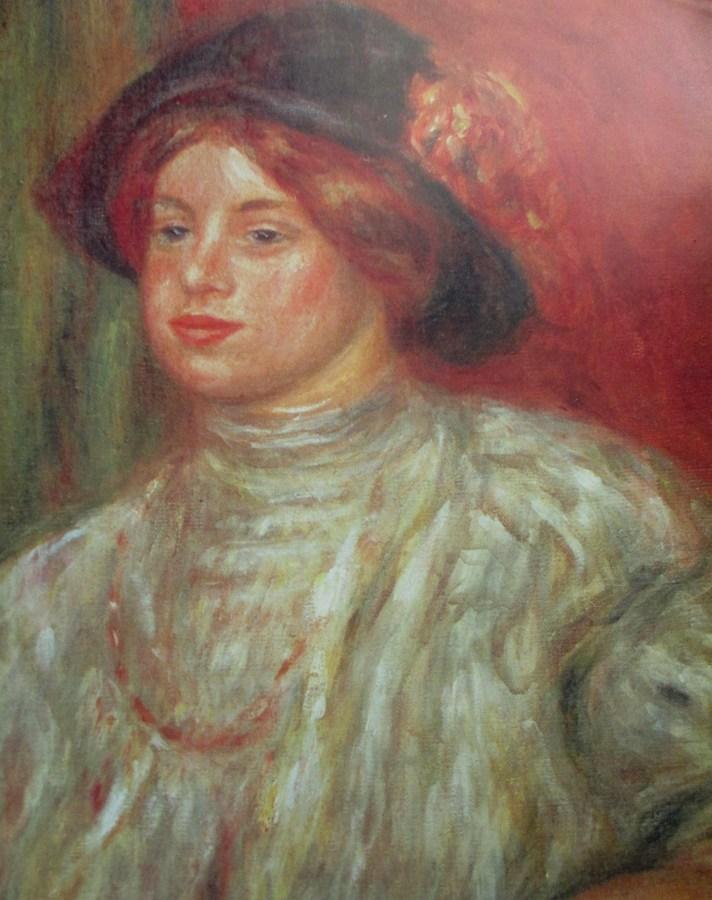 Pierre-Auguste Renoir | Gabrielle au chapeau