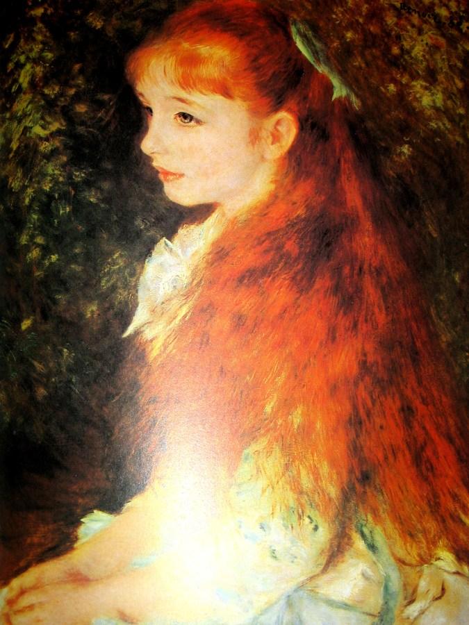 Pierre-Auguste Renoir | Mlle Irene Cahen d'Anvers (1880)