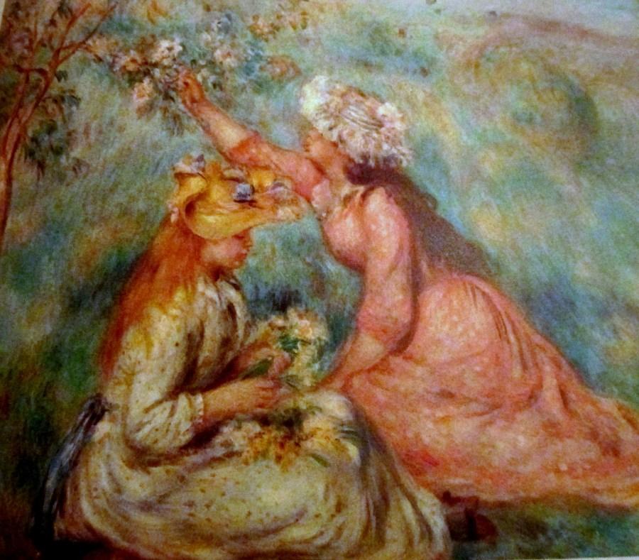 Pierre-Auguste Renoir   Girls Picking Flowers
