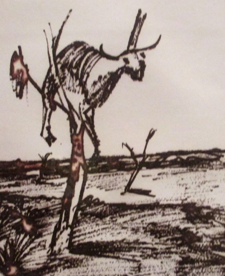 Sidney Nolan   Carcass in a Tree 1
