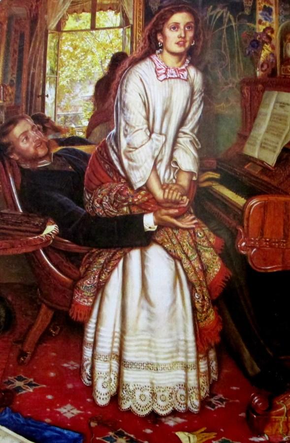 William Holman Hunt | The Awakening Conscience (1853)