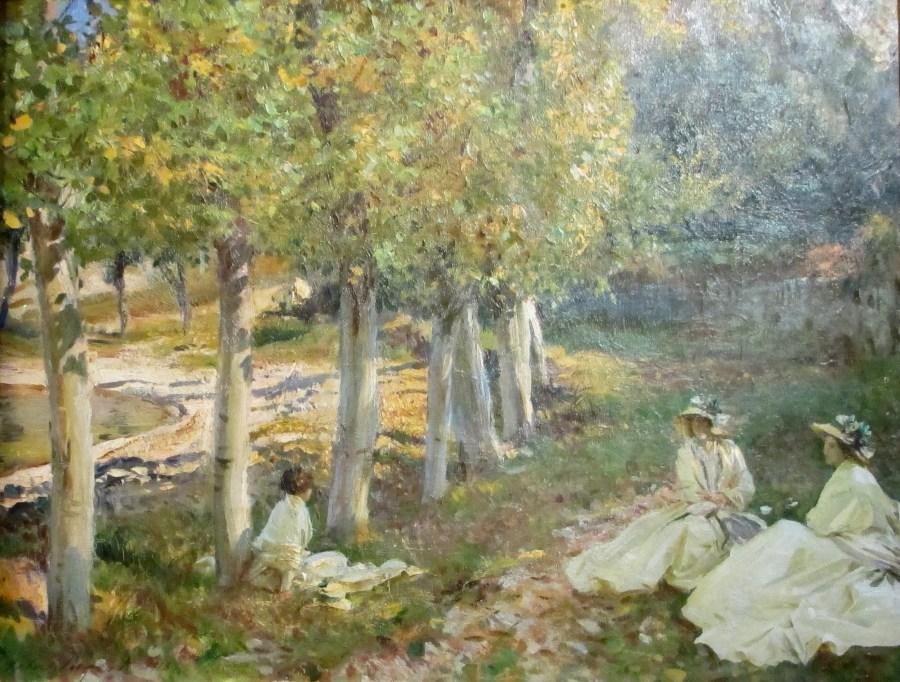John Singer Sargent | Autumn Leaves