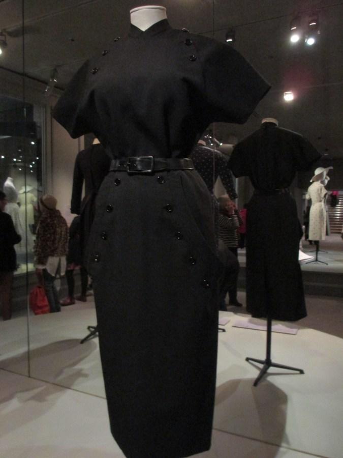 Christian Dior   Kirghise Dress 'Corolle' Line Autumn-Winter 1947-48