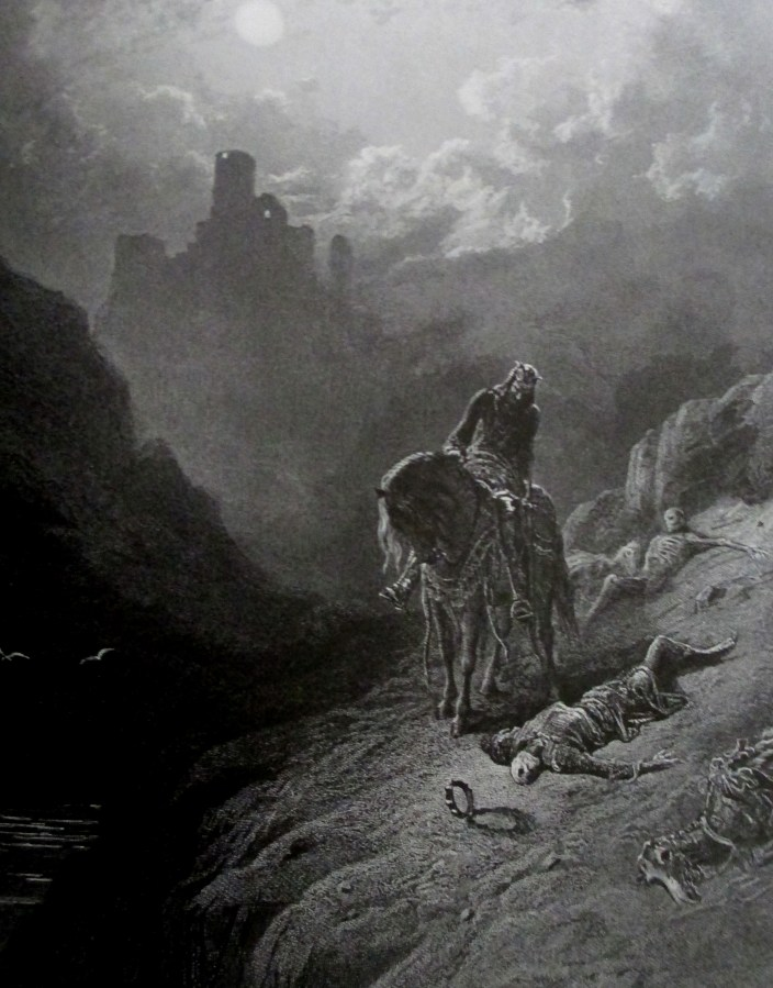 Gustave Dore | Uther discovers the two brothers Idyll of the King London