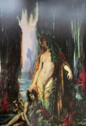 Gustave Moreau | Le Poete et la Sirene 1892