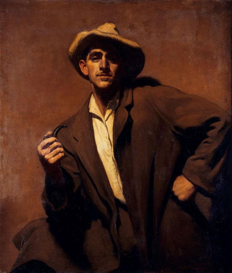Henry Aloysious Hanke - self portrait 1934