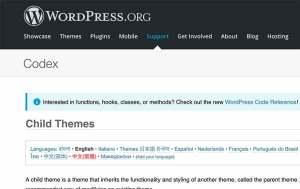 Child Theme Screenshot from wordpress.org