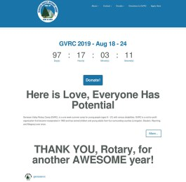 website screenshot - gvrc.org