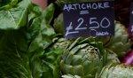 photo of artichokes - unsplash Judy Lamont