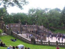 Scene Across from Bethesda Fountain