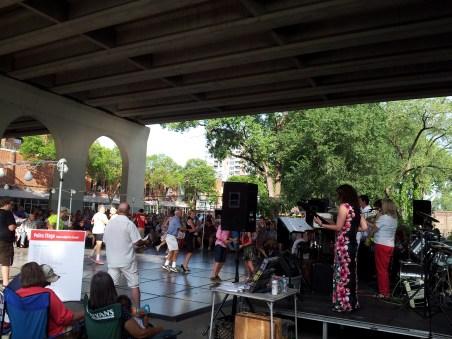 Polka Band and Dancers