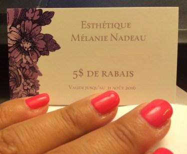 Esthétique Mélanie Nadeau