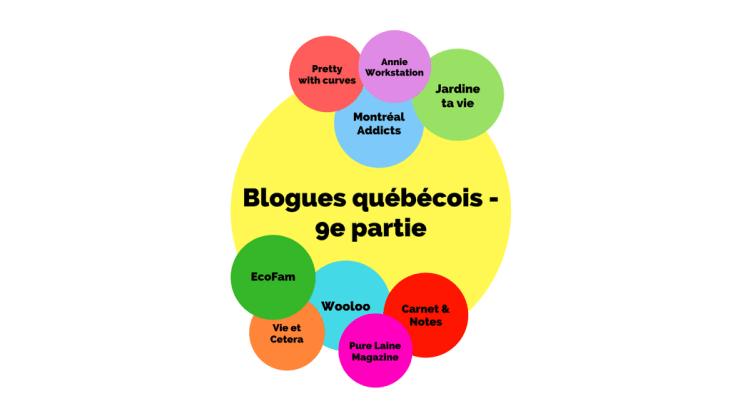 Blogues québécois - 9e partie