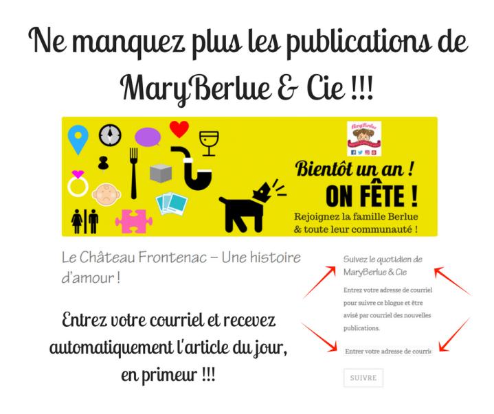 Vous ne voulez plus manquer un article - Vous saviez que vous pouviez vous abandonner sur le site de MaryBerlue & Cie -.png