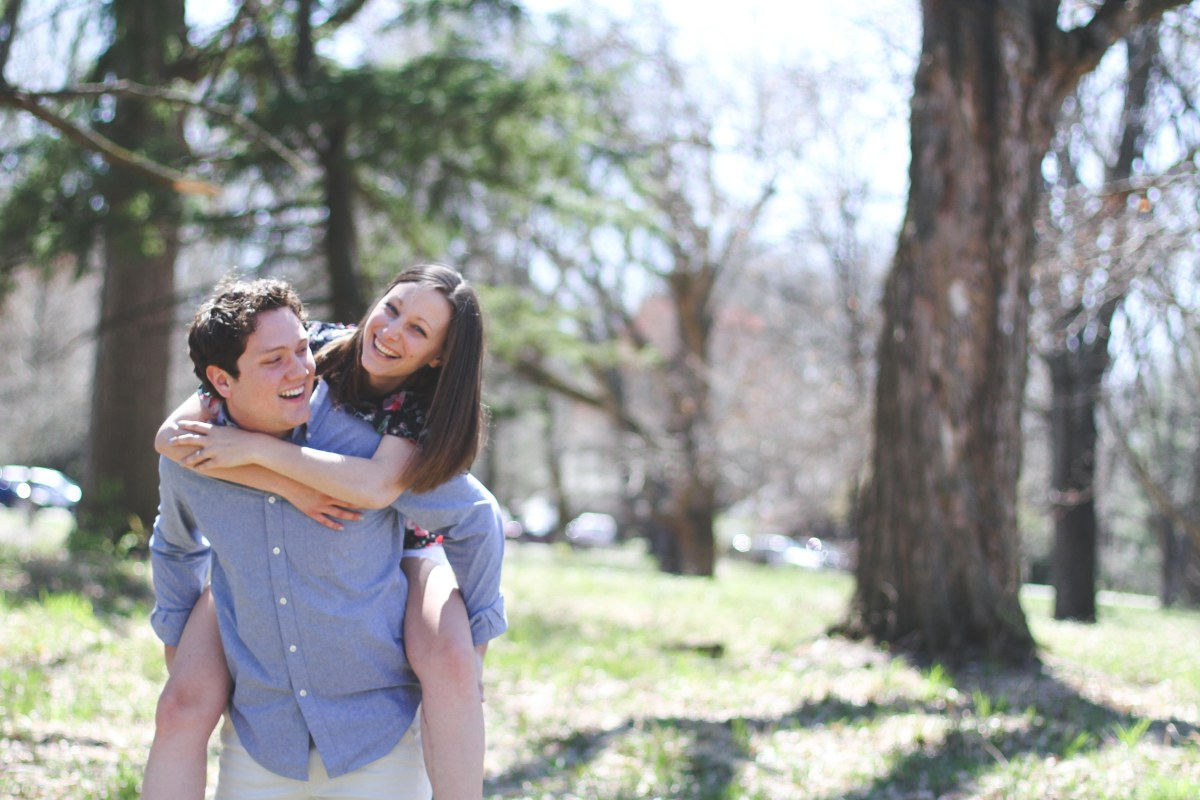 Caleb and MaryBeth Eiler.