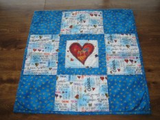 Front of doll quilt