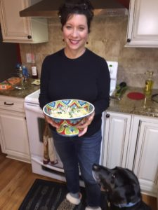 Food, rescue dog, Mary Campisi
