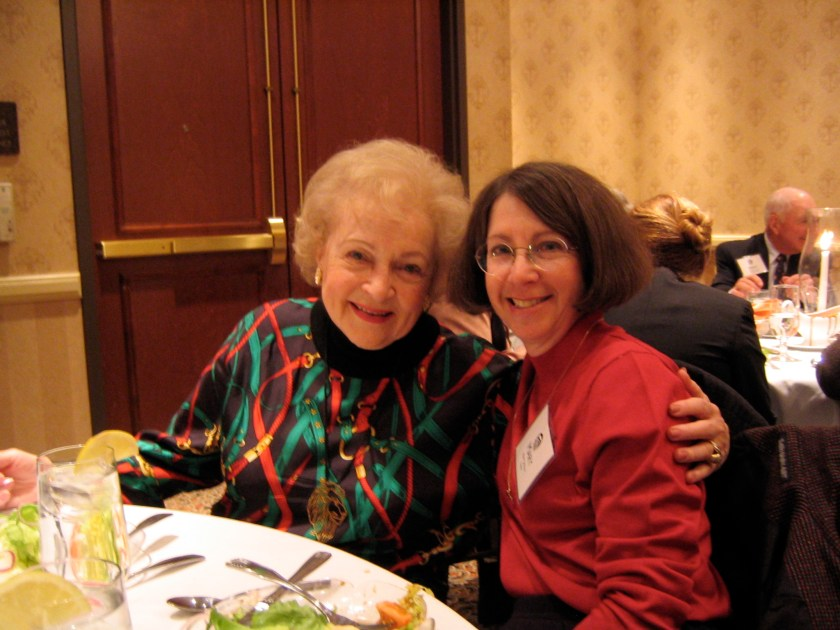 First meeting with Betty White